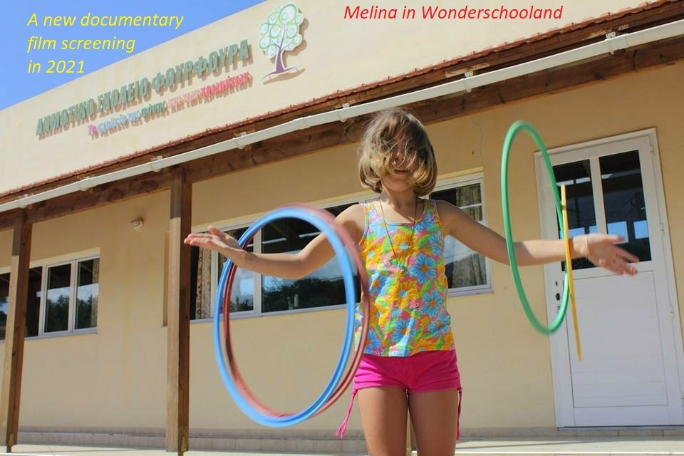 Melina in Wonderschooland